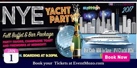 chicago boat party 2017 nye 2017 yacht party in chicago eventmozo jan 01 2017