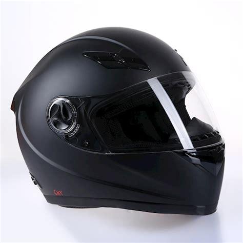 Motorradhelm Schwarz by Motorradhelm Integralhelm Rollerhelm Helm Schwarz Matt