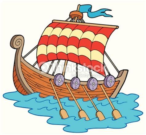 long boats cartoon bateau viking clipart vectoriel thinkstock