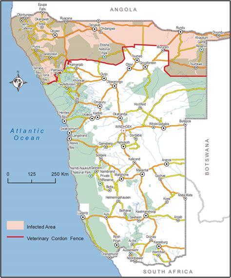 tracks4africa namibia map namibia karte gemeinden