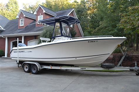boat canvas anderson sc 2003 sea hunt triton 232 center console the hull truth