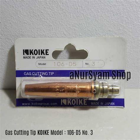 Cutting Nozzle Cigweld No 15 306049 jual cutting tip cutting nozzle koike 106 d5 no 3 anursyam