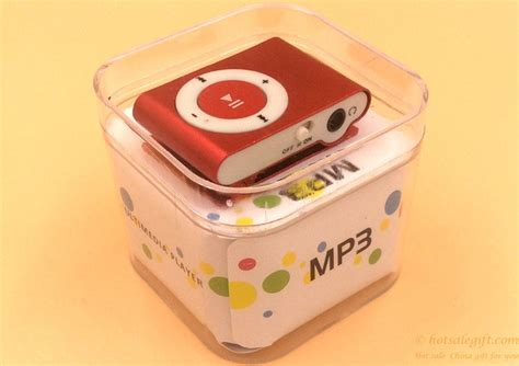 mini clip mp3 player hot sale christmas wholesale gifts