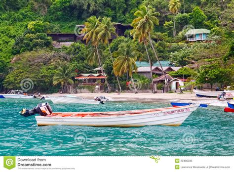 caribbean fishing boat plans st lucia colorful fishing boat off soufriere editorial