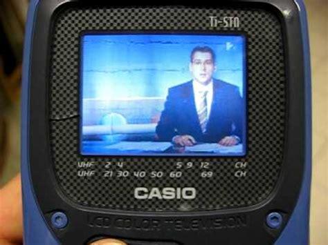 Tv Lcd Ukuran Mini casio mini lcd tv