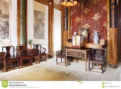 chinese  house stock photo image