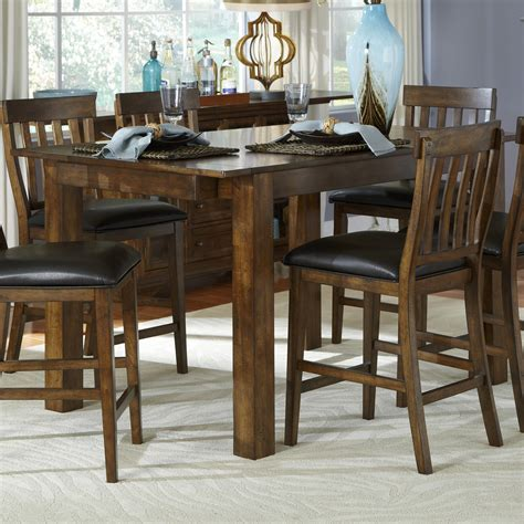 Lancaster Cabinets Mariposa Gathering Leg Table By Aamerica Wolf Furniture