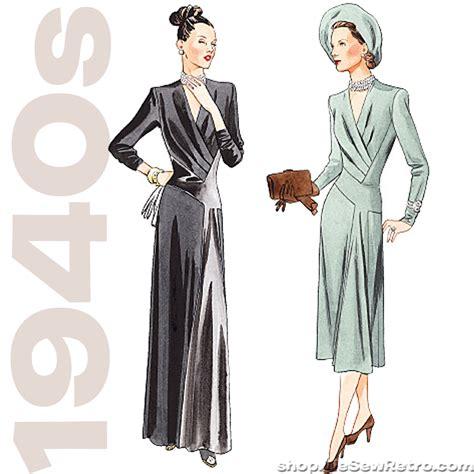 pattern vogue vintage 1940s vintage vogue misses dress vogue patterns v2354