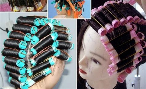 how to roll hair with jumbo flexi rods 3bags 24 30pcs lot hair perm rod plastic curlers rollers
