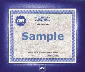 ase certificate template add item to cart