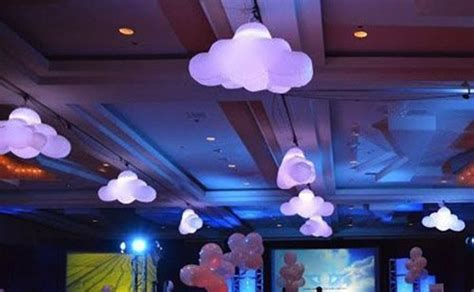 indoor party decoration inflatable  led light