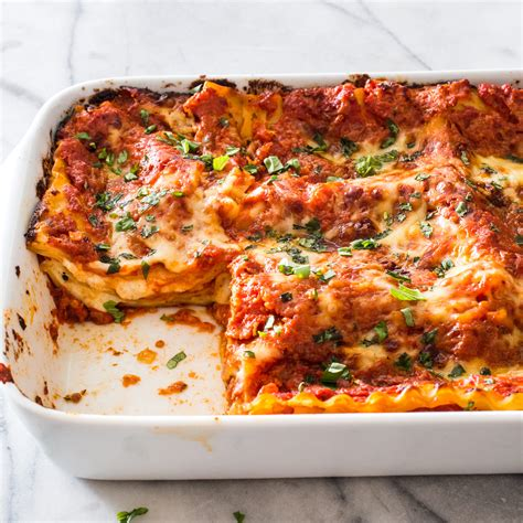 easy lasagna recipe without cottage cheese cheese and tomato lasagna cook s illustrated