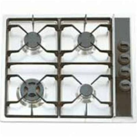 24 In Gas Cooktop - verona 24 inch white gas cooktop vectg424sw appliances