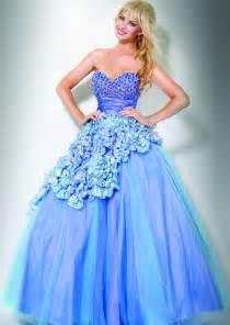 pretty dresses exposed fashion pretty blue prom dresses