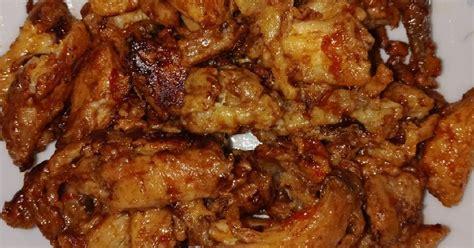 resep ayam goreng kering bawang putih enak