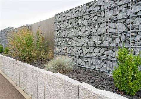 gartenzaun metall mit steinen gefüllt 50 gabion wall and fence ideas photos