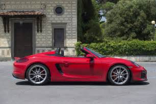 Porsche Boxter Spyder 2016 Porsche Boxster Spyder Second Drive Review
