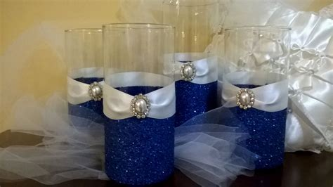 20 Blue And White Wedding Table Settings, Blue And White