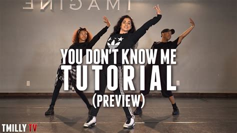 dance tutorial i don t mind dance tutorial preview jax jones you don t know me ft