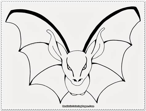 bat coloring page realistic bat coloring pages realistic coloring pages