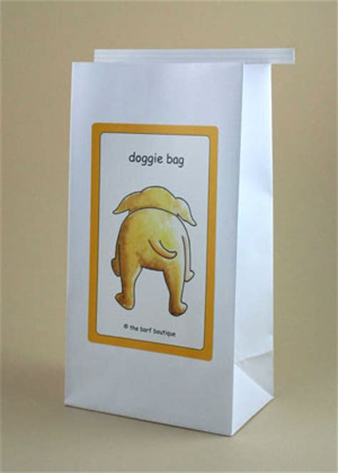 I Doggie Bags by Quot Bow Wow Quot Doggie Bags Novelty Barf Bags