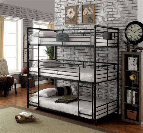 industrial bunk beds olga i industrial style full size metal construction