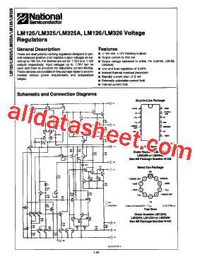 326 transistor datasheet lm326 datasheet pdf national semiconductor ti