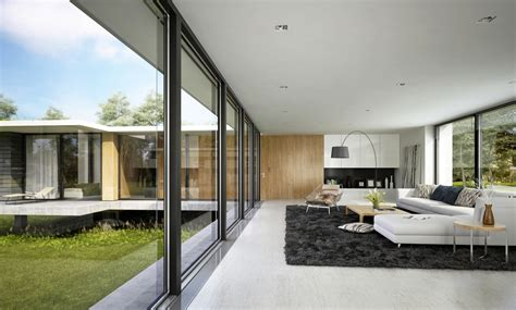 contemporary rooms spacious modern living room interiors