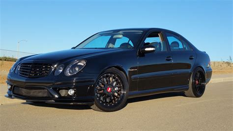 e55 mercedes amg 2006 mercedes w211 e55 amg on bbs wheels benztuning