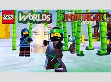 LEGO Worlds - Ninja Bamboo Forest Brick Build Unlock Lloyd ... Lego Games Ninjago Free