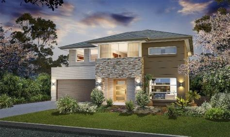 masterton home designs bronte clovelly lhs facade