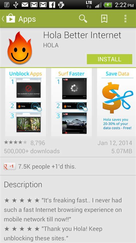 hola better android pandora radio app in canada tutorialxware