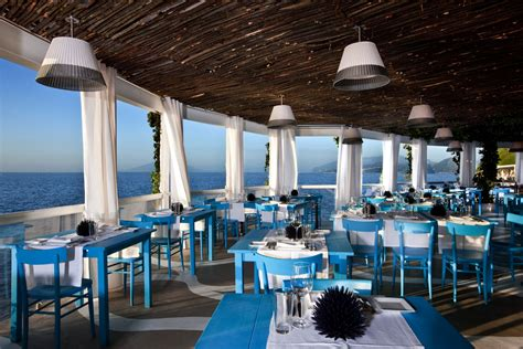 Outdoor Kitchens Sydney - il riccio stylish waterfront restaurant in capri idesignarch interior design architecture