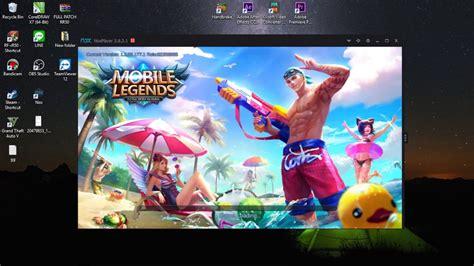 tutorial mobile legend pc cara main mobile legend di pc atau laptop youtube
