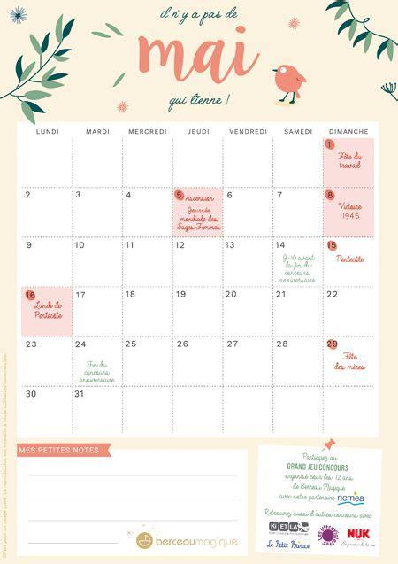 mai calendrier 2016 les 20 meilleures id 233 es de la cat 233 gorie calendrier mai