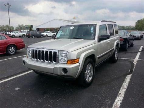 2007 Jeep Commander Transmission Buy Used 2007 Jeep Commander Sport In 468 Gradle Drive