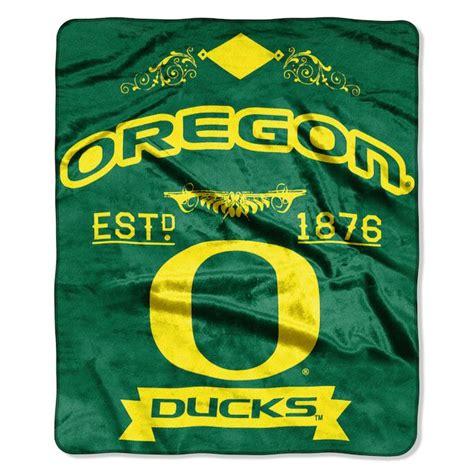 oregon ducks bedding ncaa oregon ducks 50x60 raschel throw buy at team