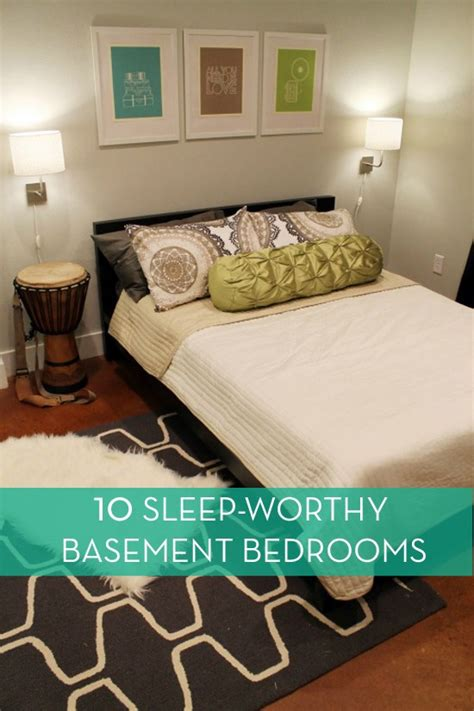 bedroom in basement with no window eye candy 10 basement bedrooms you d actually want sleep in 187 curbly diy design