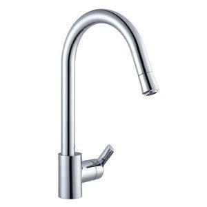 artisan satin nickel kitchen faucet af 620 sn