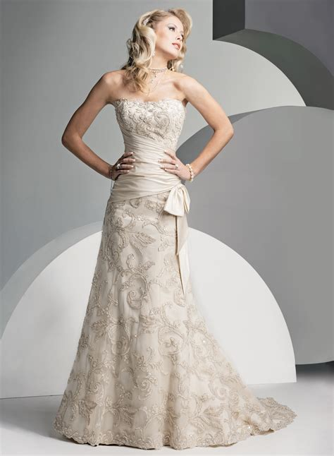 the wedding dress strapless lace wedding dresses for and