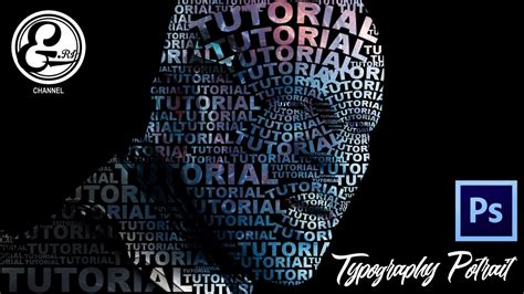 typography tutorial for photoshop tutorial photoshop make easy typography portrait