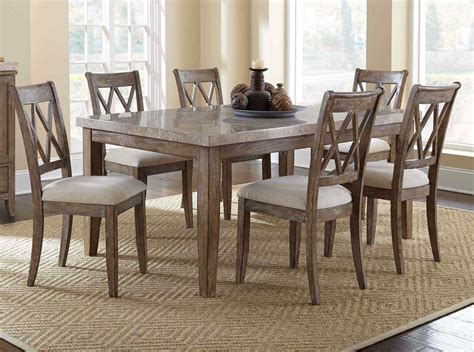 set dining room table homelegance chicago 7 piece pedestal dining room set in