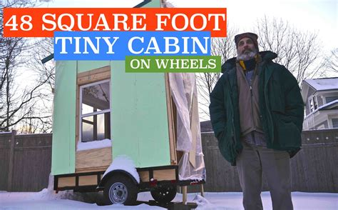 48 square feet future 48 square foot airbnb tiny cabin house on wheels