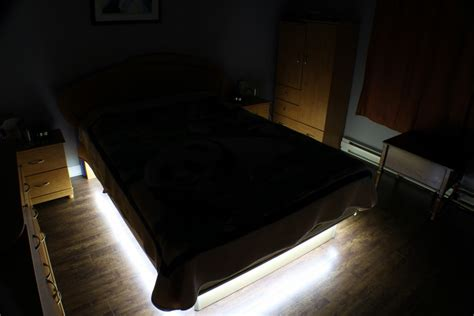 under bed lighting diy bedroom under the bed led lighting end2end zone