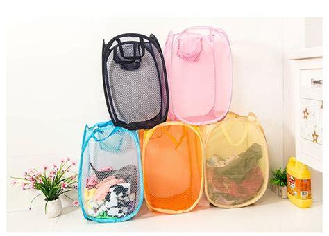 Keranjang Pakaian Kotor Plastik jual beli keranjang baju kotor lipat praktis kantong