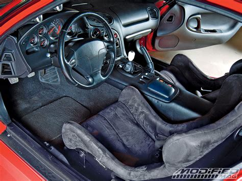 Mazda Rx7 Fd Interior by 1994 Mazda Rx 7 Modified Magazine