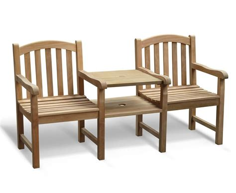 jack and jill bench clivedon vista teak garden companion seat jack and jill seat