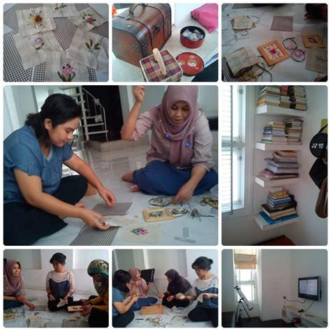 Rak Piring Matahari Universal Ada Keramik crafty day belajar sulam pita mulai dari dasar