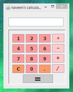 tutorial java calculator calculator java free source code tutorials and articles