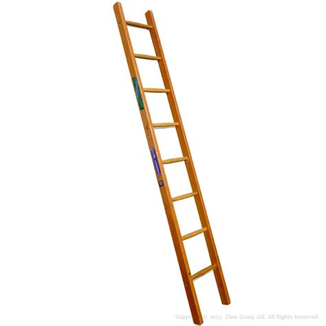 single section ladder industrial timber ladder single section to bs1129 class 1